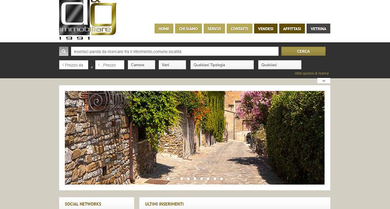 sito web agenzia immobiliare www.deg1991.it