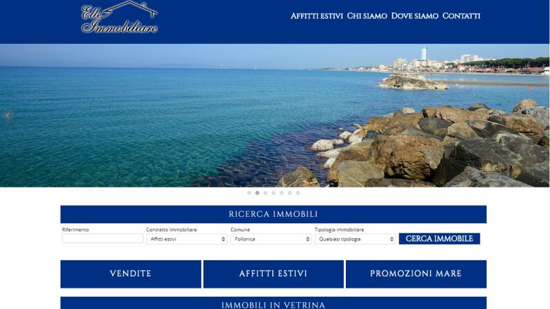 sito web agenzia immobiliare www.elleimmobiliare.net