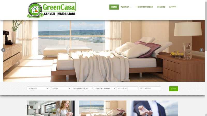 sito web immobiliare www.greencasa.eu